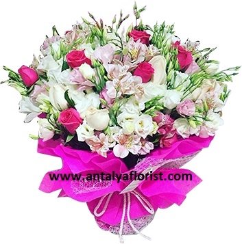 antalya flowers shop Stylish Bouquet Astoria Rose