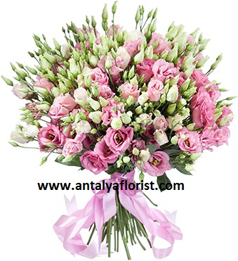 antalya flowers shop Lisianthus Bouquet
