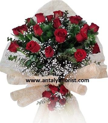 antalya flowers shop 27 Red Rose